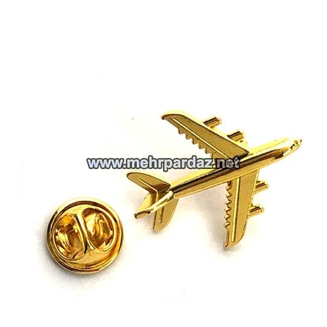 Airbus A380 Gold Pin