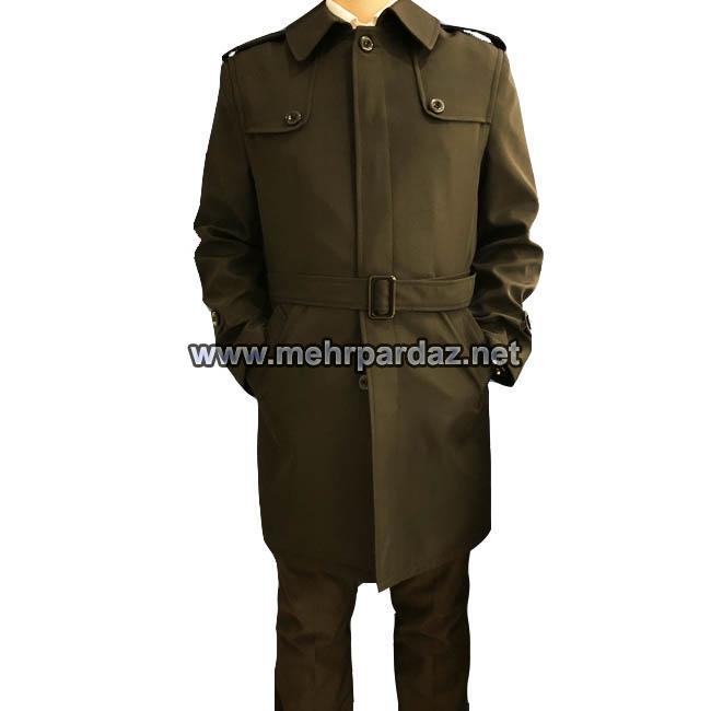 Men Pilot Raincoat