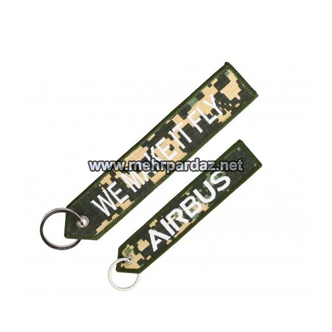 Military Airbus We Make it Fly Keyring