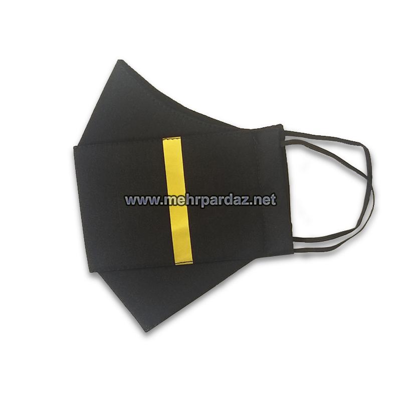 One Epaulette Bars Pilot Face Mask