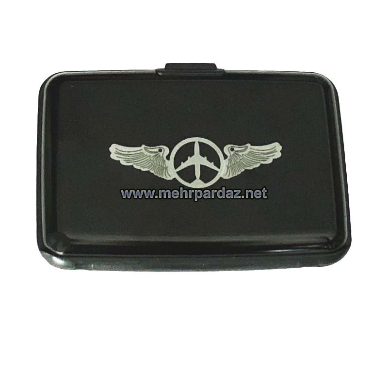 Airplane Accordion Business Card Case
