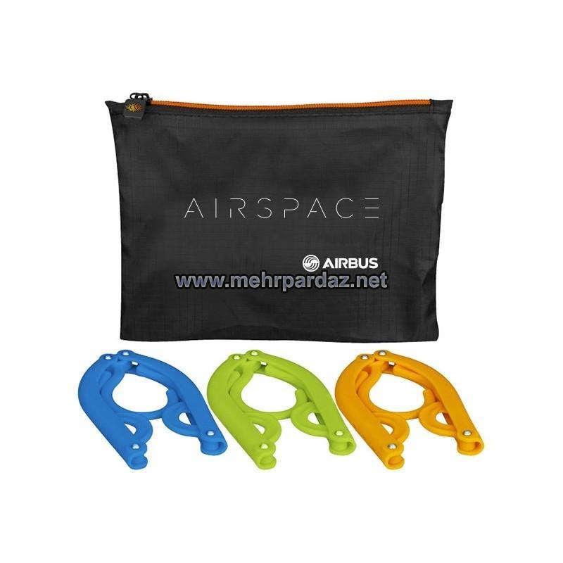 Airspace 3pcs Foldable Hanger Set