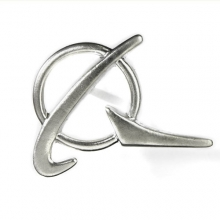 Boeing Silver Symbol Pin