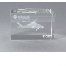 Airbus Helicopter Tiger Crystal Block