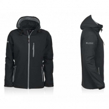 Airbus Women Hooded Softshell Zipped Jacket