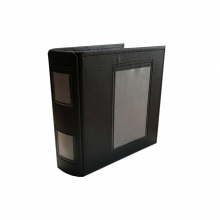 Airway Leather Binder Black