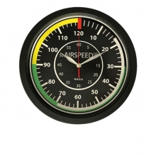Airspeed Wall Clock 12in