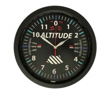 Altitude Wall Clock 12in