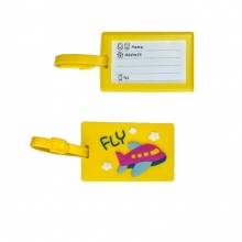 Yellow Fly Luggage Tag