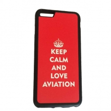 Keep Calm and Love Aviation Cellphone Case