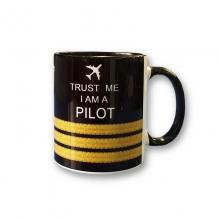 Trust Me I am a Pilot Mug - 3 Bar