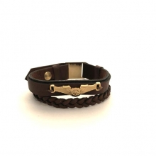Airplane Leather Bracelet - Type F