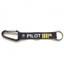 Pilot 4 bar Carabiner Keyring