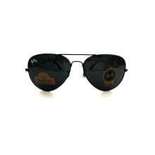 Ray-Ban HQ Aviator Sunglasses - Black