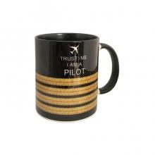 Trust Me I am a Pilot Mug - 4 Bar