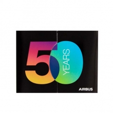 Airbus Post it Notebook 50 Years - Limited Edition
