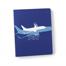 B737 Shadow Graphic Notebook