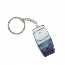 Boeing Endeavors 747-8 Keychain