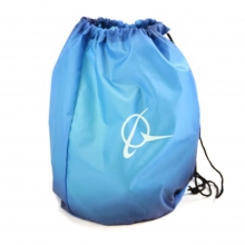 Boeing Living Blue Cinch Sack