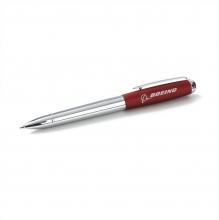Boeing Luxe Matte Chrome Ballpoint Pen