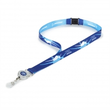 B787 Shadow Graphic Lanyard