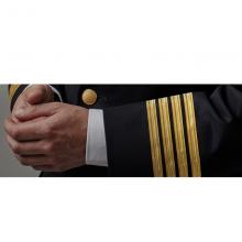 Airline Pilot Metallic Gold Uniform Braid