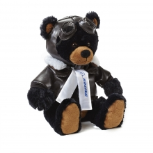 Boeing Black Large Aviator Bear