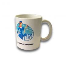 Blue Flight Attendant Mug
