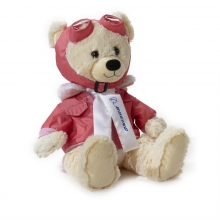 Boeing Pink Large Aviator Bear