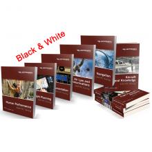 Jeppesen EASA PPL Manuals Complete Set - B/W