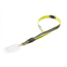 Boeing Neon Safety Lanyard Yellow