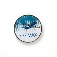 737 MAX Winglet Round Pin