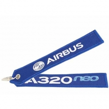 A320neo Remove Before Flight Large Keyring