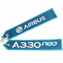 A330neo Remove Before Flight Large Keyring
