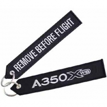 A350 XWB Remove Before Flight Large Keyring