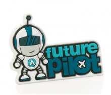 Future Pilot Magnet - Blue