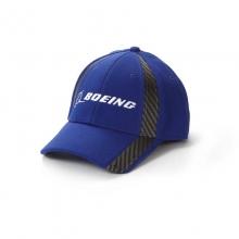Boeing Carbon Fiber Print Signature Hat