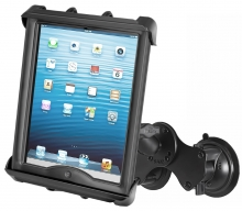 RAM Mount with Twist-Lock Dual Suction Cup for iPad Pro 9.7
