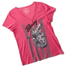 Rosie Engine V-Neck T-shirt