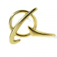 Boeing Gold Symbol Pin