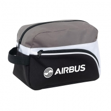 Airbus Toilet Bag - Black/Gray