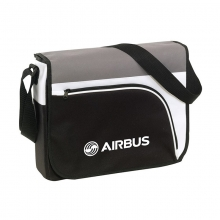Airbus Messenger Bag - Black/Gray