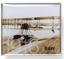 B&W Lapel Pin