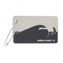 A350 XWB Carbon Fiber Luggage Tag