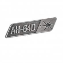 AH-64D Top View Pin