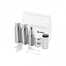 Airspace Aluminium Travel Bottle Set
