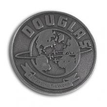 Douglas Round the World Pin