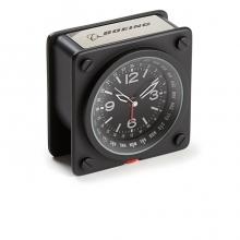 Boeing Pilot World Time Alarm Clock