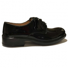 Varnished Leather Pilot Shoes