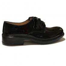 Varnished Leather Pilot Shoes